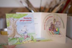 """CD Cover """"Mäuschen Max geht gern spazieren"""""""