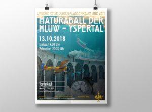 Plakat Maturaball der HLUW Yspertal